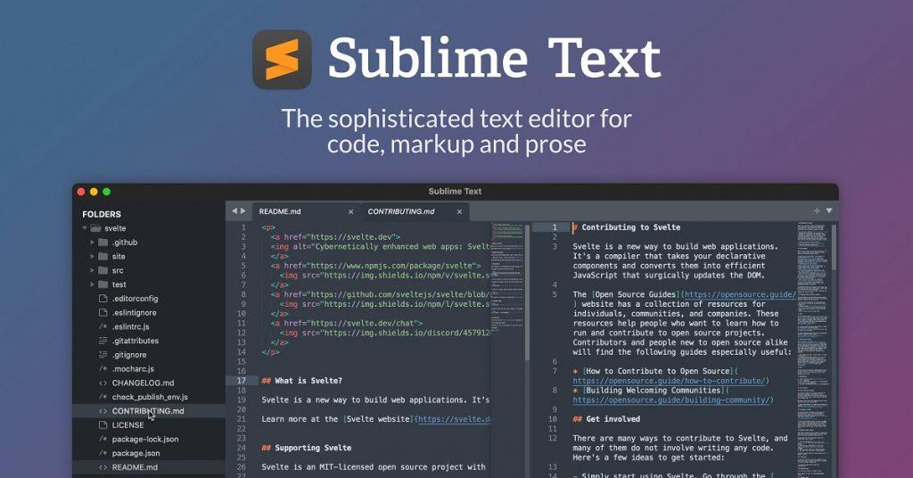 Éditeur de code source multiplateforme