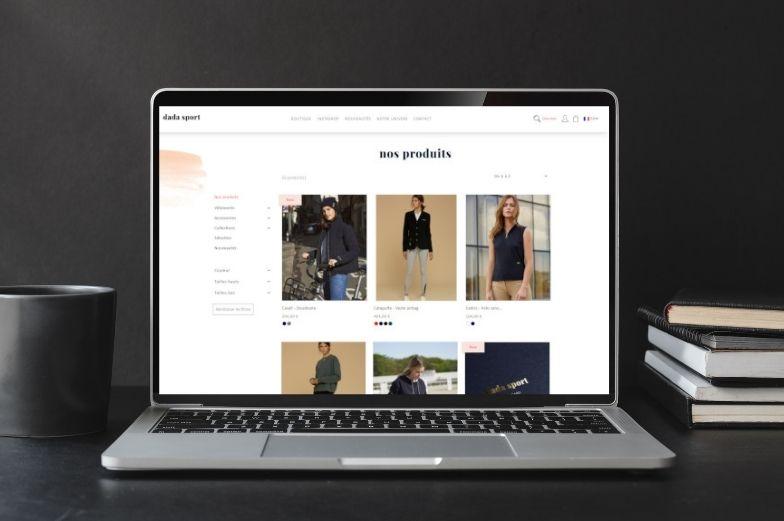 Projet : Site de commerce électronique de Dada Sport