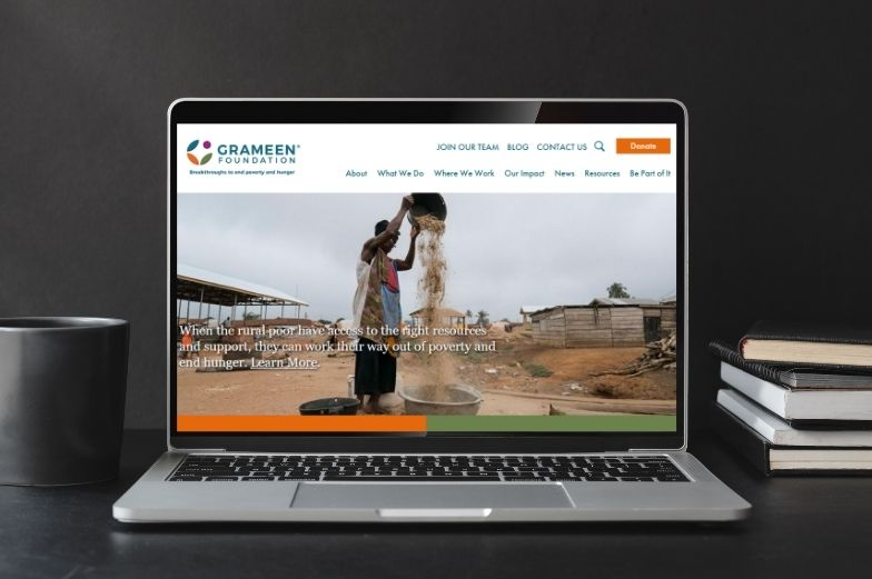 Project: Grameen Foundation Website