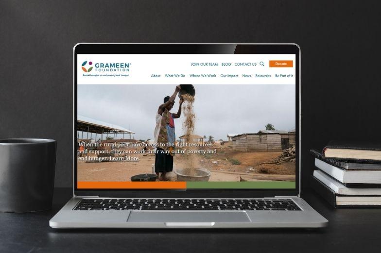 Projet : Site de la Fondation Grameen