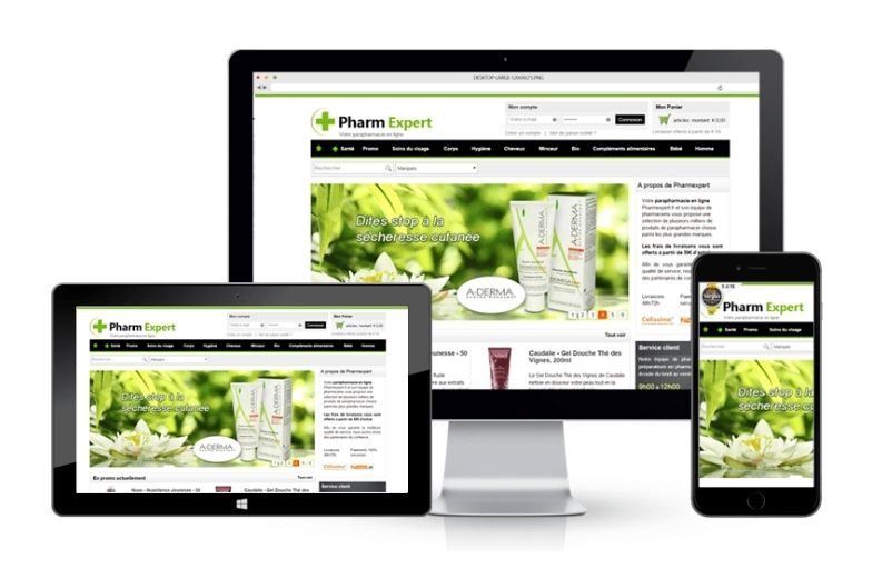 Project: Pharmexpert eCommerce Website