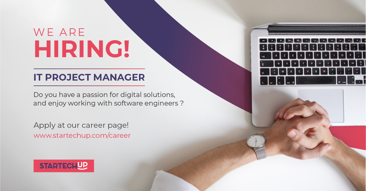 IT Project Manager - Job Opening Startechup